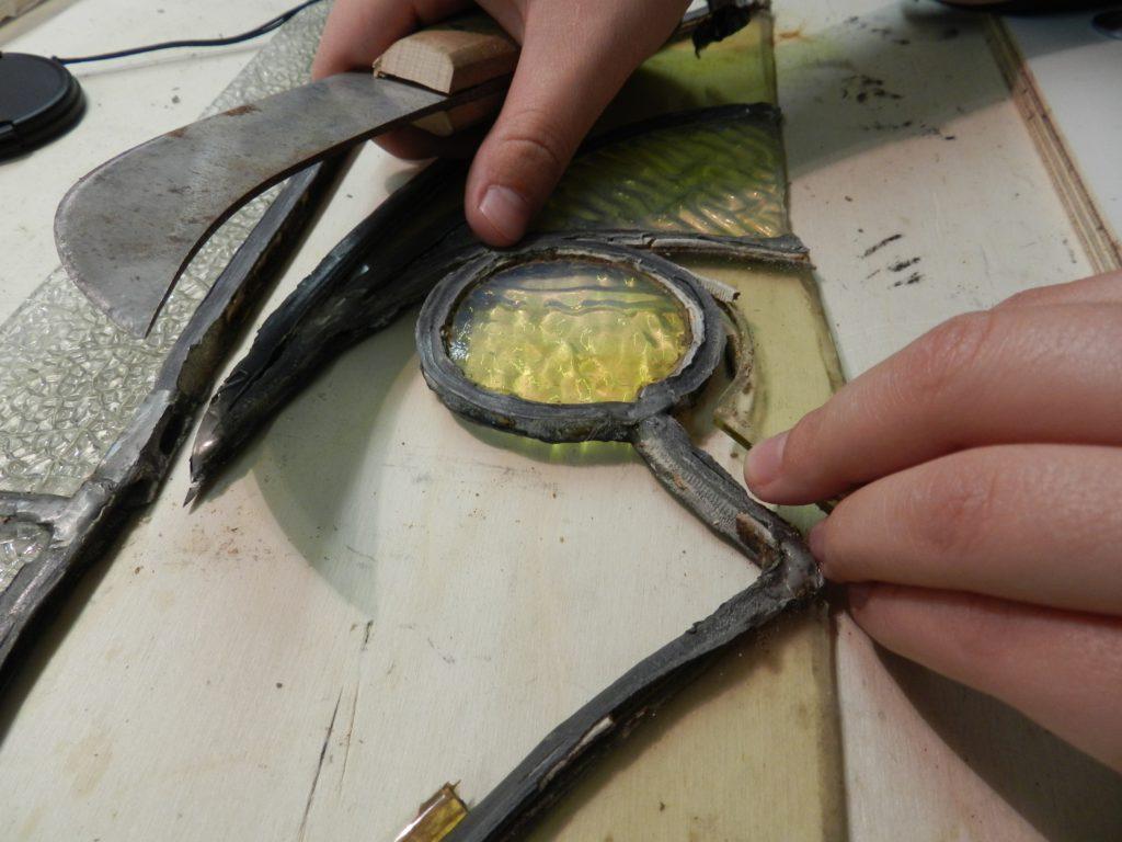 reparatie glasraam