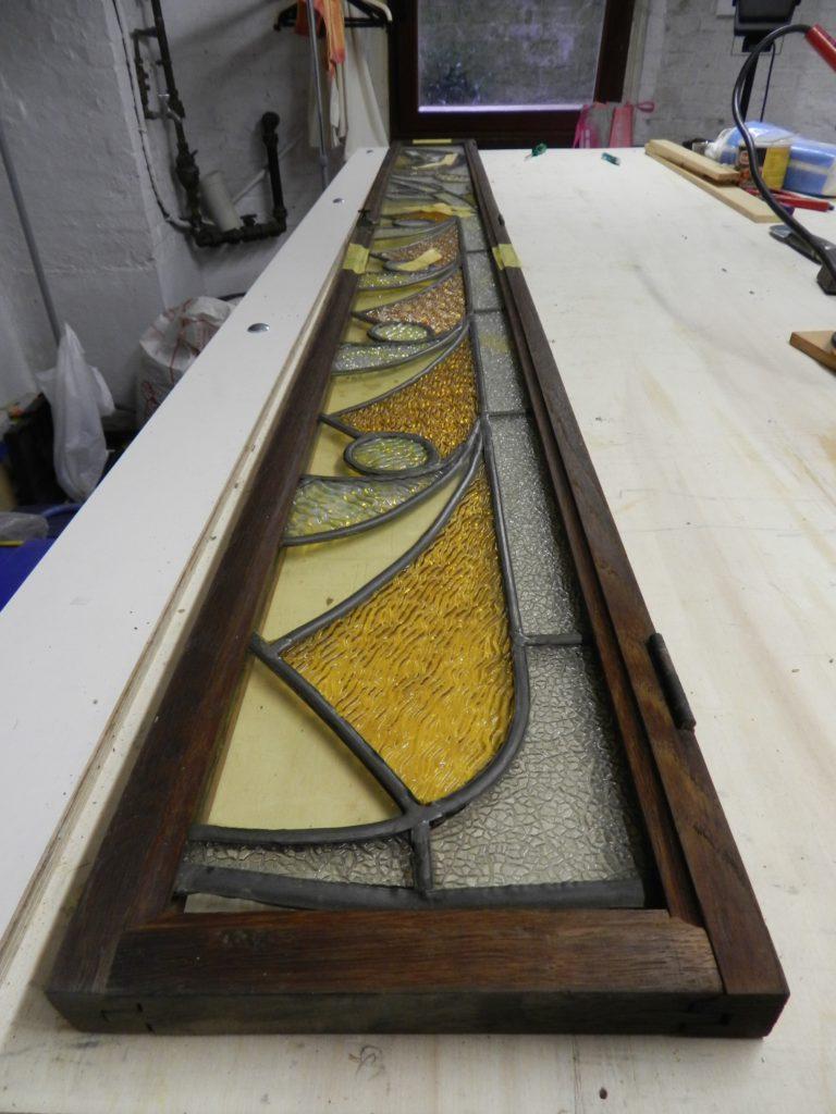 restauratie loodglas