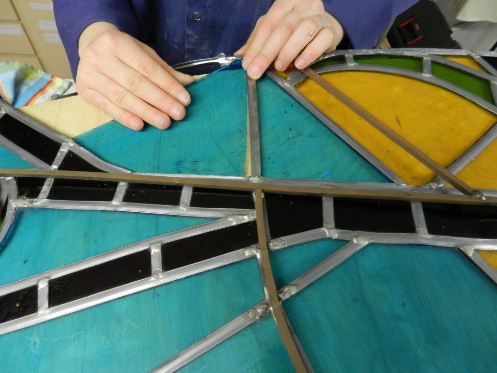repareren glasraam